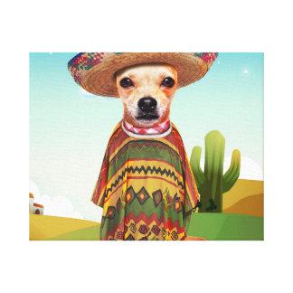 Impressão Em Tela Cão mexicano, chihuahua