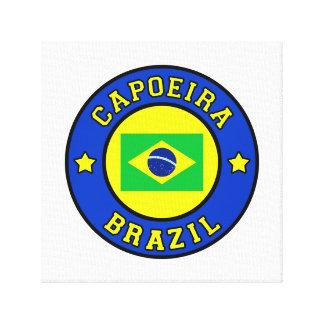 Impressão Em Tela Capoeira