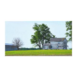 Impressão Em Tela Casa da fazenda