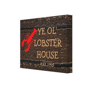 Impressão Em Tela Casa da lagosta