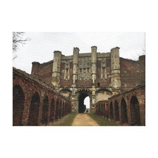 Impressão Em Tela Casa da porta da abadia de Thornton - herança &