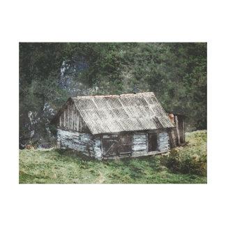 Impressão Em Tela Casa nas colinas