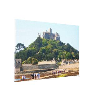 Impressão Em Tela Castelo da montagem de St Michael, Inglaterra 2