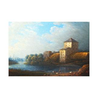 Impressão Em Tela Castelo de Carl Johan Fahlcrantz Nyköping