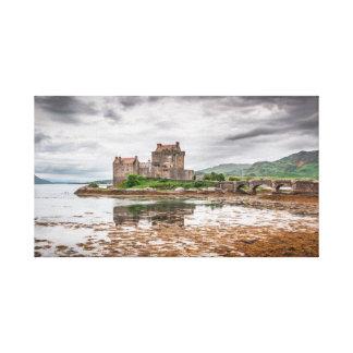 Impressão Em Tela Castelo de Eilean Donan Arte-como