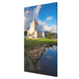 Impressão Em Tela Castelo de Ross, vertical