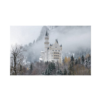 Impressão Em Tela Castelo em Baviera, Alemanha de Neuschwanstein