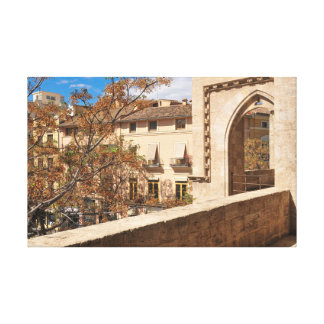Impressão Em Tela Castelo em Valência, espanha