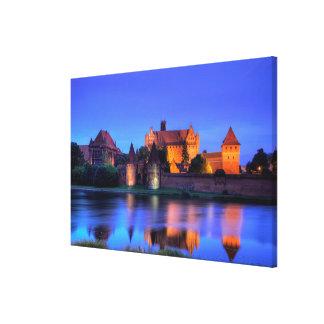 Impressão Em Tela Castelo medieval de Malbork