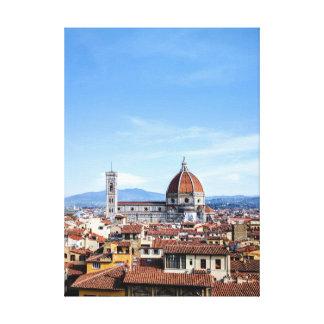 Impressão Em Tela Catedral de Florença (di Firenze do domo)