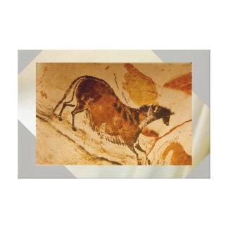 Impressão Em Tela Cavalo de galope de Lascaux