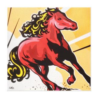 Impressão Em Tela Cavalo de guerra