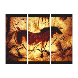 Impressão Em Tela Cavalo de Lascaux