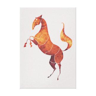Impressão Em Tela cavalo estilizado original