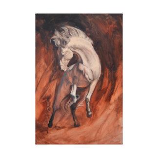 Impressão Em Tela Cavalo selvagem