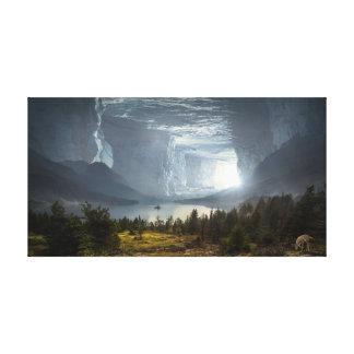 Impressão Em Tela Caverna da fantasia