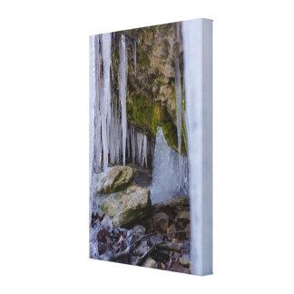 Impressão Em Tela Caverna do gelo