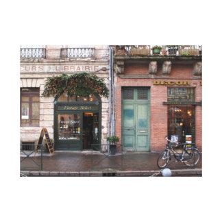 Impressão Em Tela Cena francesa intemporal do vintage