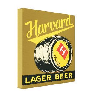 Impressão Em Tela Cerveja de cerveja pilsen de Harvard