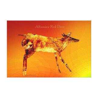 Impressão Em Tela Cervos de Altamira
