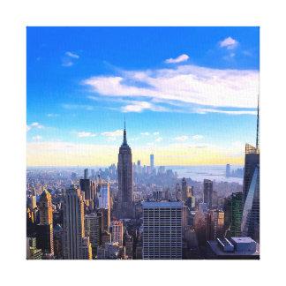 Impressão Em Tela Céu de NYC