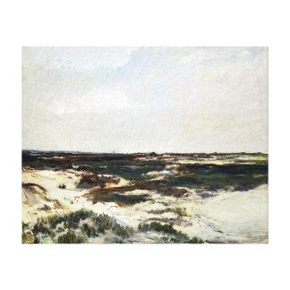 Impressão Em Tela Charles-François Daubigny as dunas em Camiers