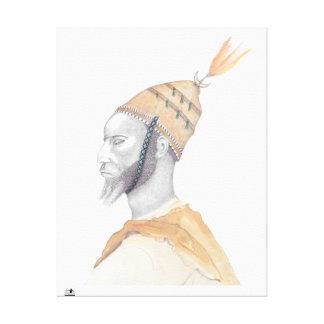 Impressão Em Tela Cheikh Ahmadou Bamba