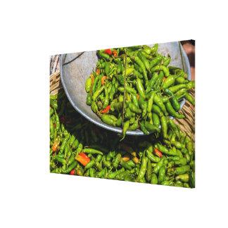 Impressão Em Tela Chilis no mercado para a venda