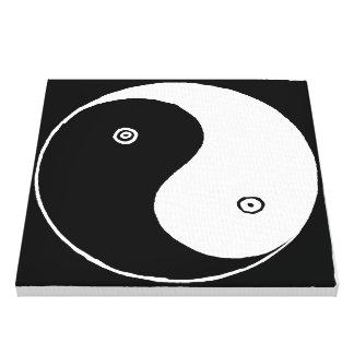 Impressão Em Tela Chinês velho Yin e símbolo de Yang