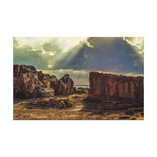 Impressão Em Tela Chipre, túmulos dos reis