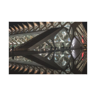 Impressão Em Tela Cidade das artes e da ciência, em Valência,