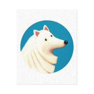Impressão Em Tela Círculo de Tallydog do cão Eskimo dos amigos