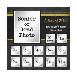 Impressão Em Tela Classe de lembrança comemorativa da foto 2018 K-12