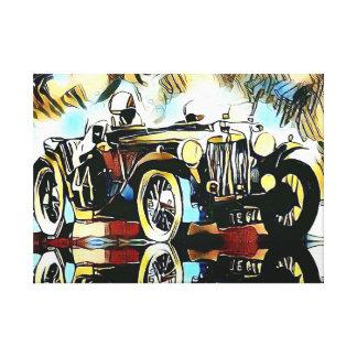Impressão Em Tela Classic cars