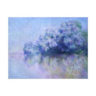 Impressão Em Tela Claude Monet Île Orties auxiliar perto de Vernon