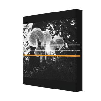 Impressão Em Tela Cogumelos da floresta