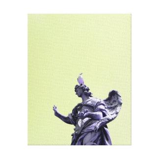 Impressão Em Tela Colora o efeito, fotografia simples filtrada,
