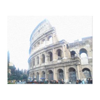 Impressão Em Tela Colosseum romano - feriado romano