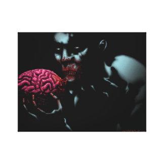 Impressão Em Tela Comedor do zombi