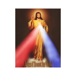 Impressão Em Tela Compaixão divino Jesus eu confio em você a imagem