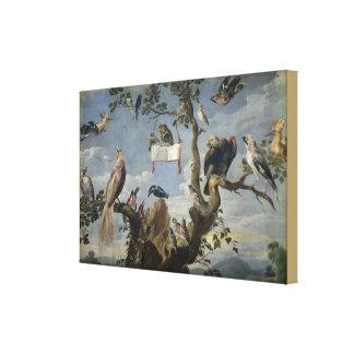 Impressão Em Tela Concerto dos pássaros por Frans Snijders
