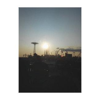 Impressão Em Tela Coney Island, New York EUA
