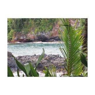 Impressão Em Tela Córrego de fluxo havaiano