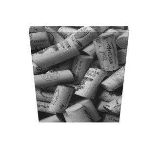 Impressão Em Tela Cortiça do vinho idas perto