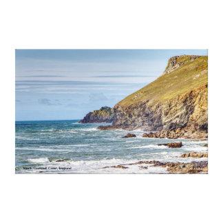 Impressão Em Tela Costa norte de Cornualha, Englandh