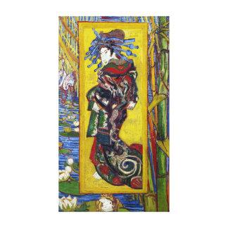 Impressão Em Tela Courtesan de Vincent van Gogh