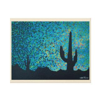Impressão Em Tela Crepúsculo do deserto