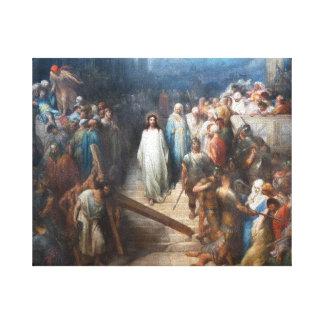 Impressão Em Tela Cristo que deixa Praetorium