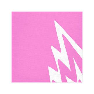 Impressão Em Tela Curto circuito - design cor-de-rosa dos trabalhos