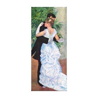 Impressão Em Tela Dança de Pierre-Auguste Renoir na cidade